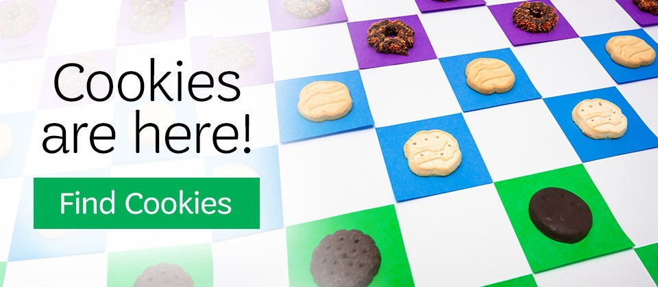 Cookies are Here. Find Cookies.