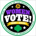 Women's Suffrage Centennial Patch
